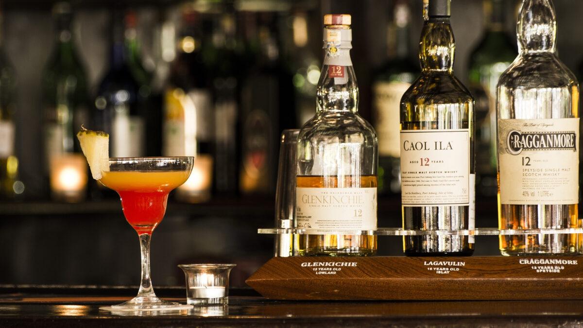 En vigtig del af hjemmebaren — Cognac